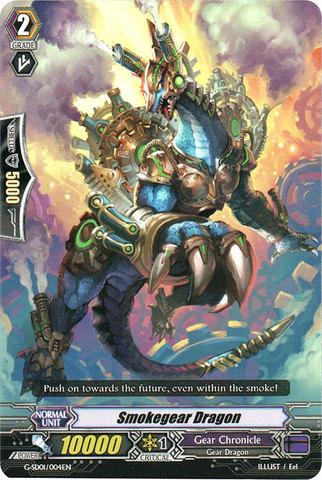 Smokegear Dragon - G-SD01/004