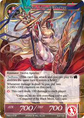 Athena, Titan of Revenge - TMS-018 - SR - Foil on Channel Fireball