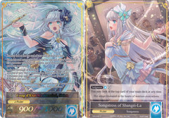 Songstress of Shangri-La // Coup d'Etat Mastermind, Shion- TMS-046  // TMS-046J  - R - Full Art