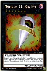 Number 11: Big Eye - PGL3-EN063 - Gold Rare - 1st Edition