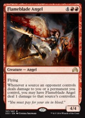 Flameblade Angel - Foil