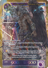 Fallen Angelic Destroyer, Lucifer - TMS-075 - SR - Full Art