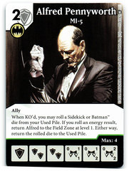 Alfred Pennyworth - MI5 (Die & Card Combo)