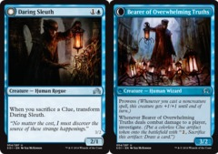 Daring Sleuth // Bearer of Overwhelming Truths - Foil on Channel Fireball