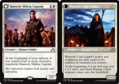 Hanweir Militia Captain // Westvale Cult Leader - Foil
