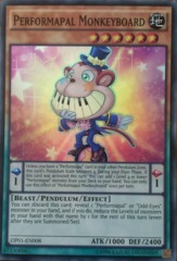Performapal Monkeyboard - OP01-EN008 - Super Rare - Unlimited Edition