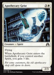 Apothecary Geist on Channel Fireball