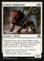 Cathar's Companion - Foil on Channel Fireball