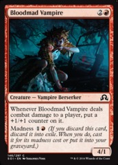 Bloodmad Vampire - Foil on Channel Fireball