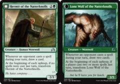 Hermit of the Natterknolls // Lone Wolf of the Natterknolls