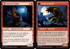 Convicted Killer // Branded Howler - Foil on Channel Fireball