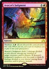 Avacyn's Judgment - Foil - Prerelease Promo
