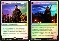 Hanweir Militia Captain // Westvale Cult Leader (Shadows over Innistrad Prerelease) on Channel Fireball