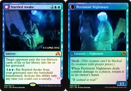 Startled Awake // Persistent Nightmare - Prerelease Promo