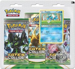 XY - Fates Collide - Three Pack Blister -  Froakie Promo