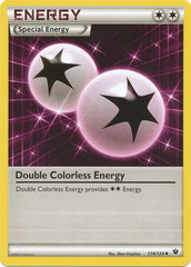 Double Colorless Energy - 114/124 - Uncommon