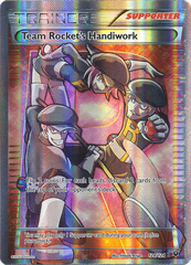Team Rocket's Handiwork - 124/124 - Full Art Ultra Rare