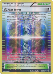 Chaos Tower - 94/124 - Uncommon - Reverse Holo