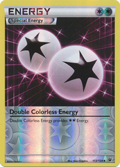 Double Colorless Energy - 114/124 - Uncommon - Reverse Holo