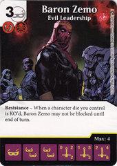 Baron Zemo - Evil Leadership (Card Only)