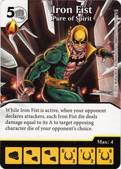 Iron Fist - Pure of Spirit (Die & Card Combo)