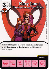 Mary Jane - Hostage in my Own House (Card Only)