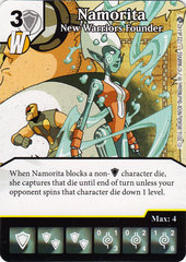 Namorita - New Warriors Founder (Card Only)