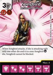 Songbird - Reformed Villain (Die & Card Combo)