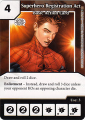 Superhero Registration Act (Card Only)