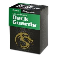 BCW - Deck Guard - Matte - 80 boxed - Green