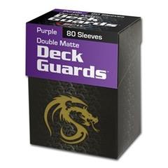 BCW - Deck Guard - Matte - 80 boxed - Purple