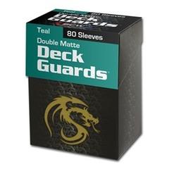 BCW - Deck Guard - Matte - 80 boxed - Teal