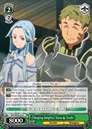 Sleeping Knights Siune & Tecchi - SAO/SE26-E19 - C - Foil