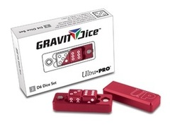 Ultra PRO Gravity Dice D6 Crimson 2pc Set