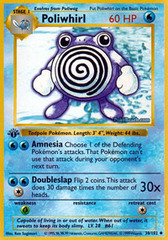 Poliwhirl - 38/102 - Uncommon - 1st Edition
