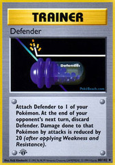 Defender - 80/102 - Uncommon - 1st Edition