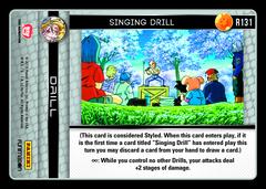 Singing Drill - R131 - Foil