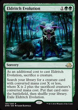 Eldritch Evolution - Foil