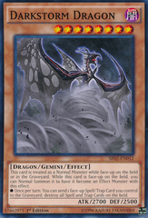 Darkstorm Dragon - SR02-EN012 - Common - 1st Edition