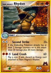 Team Magma's Rhydon - 22/95 - Rare