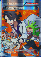 Professor Sycamore - 114/114 - Full Art Ultra Rare