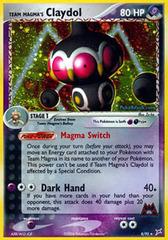 Team Magma's Claydol - 8/95 - Holo Rare