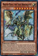 Master Peace, the True Dracoslayer - TDIL-EN020 - Ultra Rare - 1st Edition
