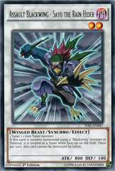 Assault Blackwing - Sayo the Rain Hider - TDIL-EN047 - Rare - 1st Edition