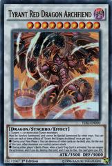 Tyrant Red Dragon Archfiend - TDIL-EN050 - Ultra Rare - 1st Edition