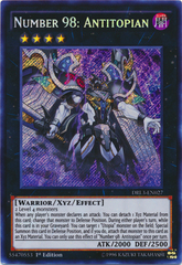 Number 98: Antitopian - DRL3-EN027 - Secret Rare