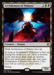 Archdemon of Paliano - Foil on Channel Fireball