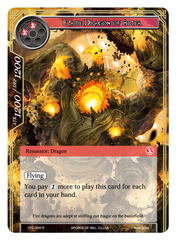 Flame Dragon of Altea - CFC-024 - R - Textured Foil