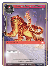 Stalking Tiger in the Woods - CFC-030 - C on Channel Fireball