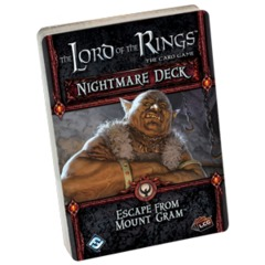 The Lord of the Rings: The Card Game Nightmare Deck - Escape from Mount Gram